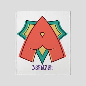 assman-T Throw Blanket