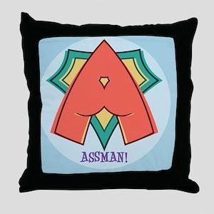 assman-CRD Throw Pillow