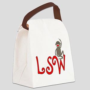 SW sock monkey Canvas Lunch Bag