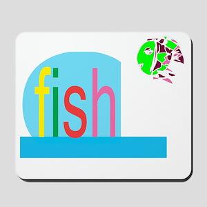 fishes_fish Mousepad