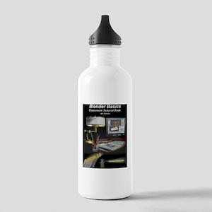 BlenderBasics4FrontCov Stainless Water Bottle 1.0L