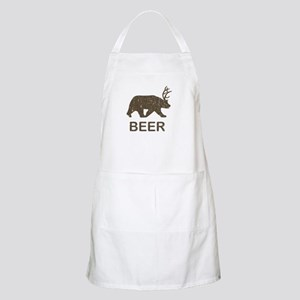 Beer Bear Deer Apron