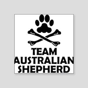 Team Australian Shepherd Sticker