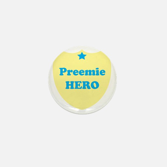 premieheroblue Mini Button