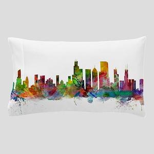 Chicago Illinois Skyline Pillow Case
