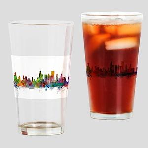 Chicago Illinois Skyline Drinking Glass