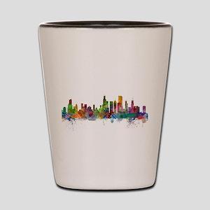 Chicago Illinois Skyline Shot Glass
