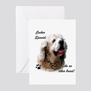 Cocker Breed Greeting Cards (Pk of 10)