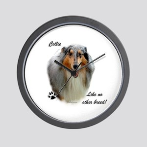 Collie Breed Wall Clock