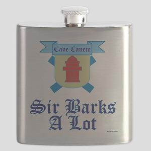 Sir Barks A lot Flask