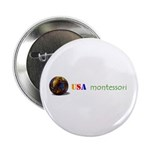 """Montessori 2.25"""" Button (10 pack)"""