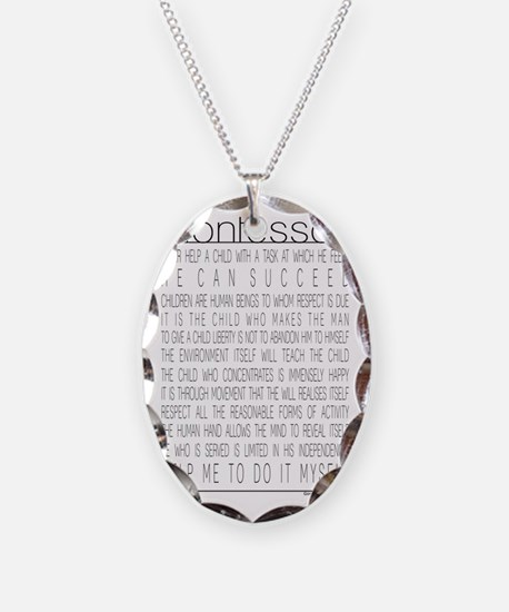 MontessoriQuotes Necklace