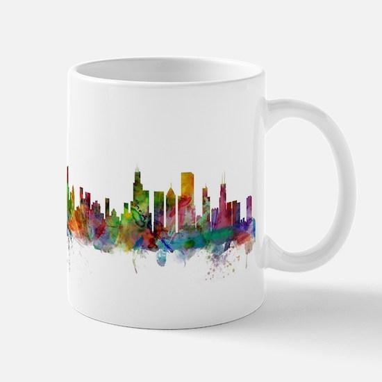 Chicago Illinois Skyline Mugs