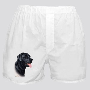 Black Lab1 Boxer Shorts