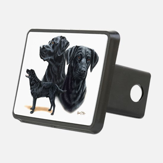 Black Labs Hitch Cover