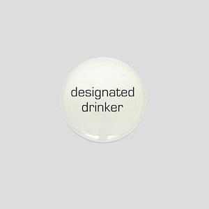 Designated Drinker Mini Button