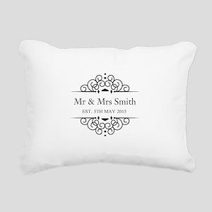 Custom Couples Name and wedding date Rectangular C