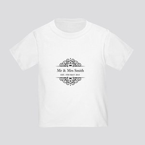 Custom Couples Name and wedding date T-Shirt