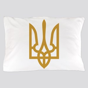 Tryzub (Gold) Pillow Case