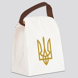 Tryzub (Gold) Canvas Lunch Bag