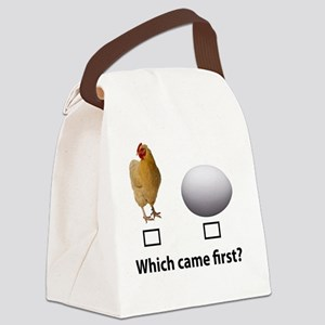 Which Came first? Canvas Lunch Bag