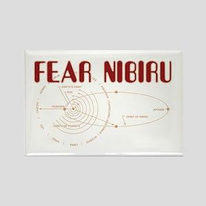 Fear Nibiru Rectangle Magnet