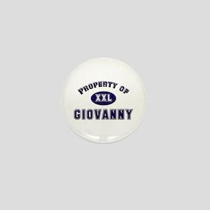 Property of giovanny Mini Button