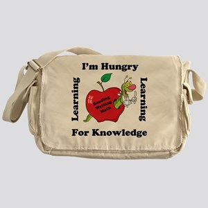 Hungry For Learning copy Messenger Bag