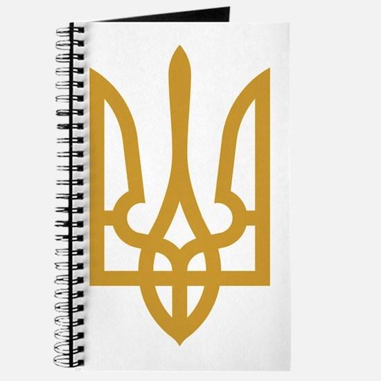 Tryzub (Gold) Journal