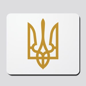 Tryzub (Gold) Mousepad