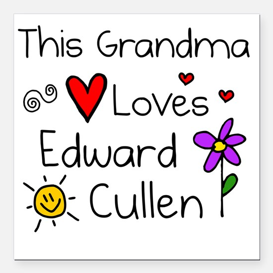 "This Grandma Square Car Magnet 3"" x 3"""