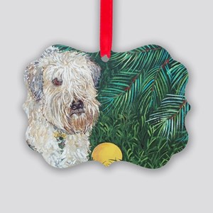 Wheaten4x6 Picture Ornament