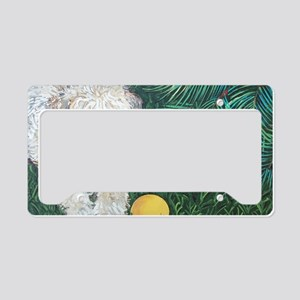 Wheaten4x6 License Plate Holder
