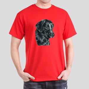Black Lab Labrador Retriever Dark Colored T-Shirt