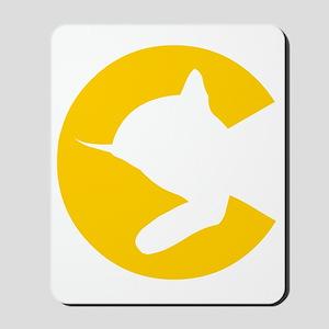 chessieyellow Mousepad