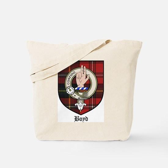 Boyd Clan Crest Tartan Tote Bag