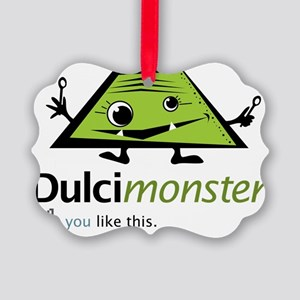 dulcimonster Picture Ornament