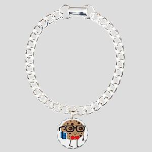 Smart Cookie Charm Bracelet, One Charm