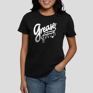 grease for black t-shirts Women's Dark T-Shirt