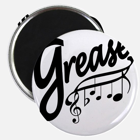 grease for white t-shirts Magnet