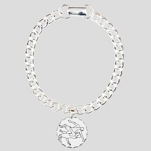 RHSWrestler007 Charm Bracelet, One Charm