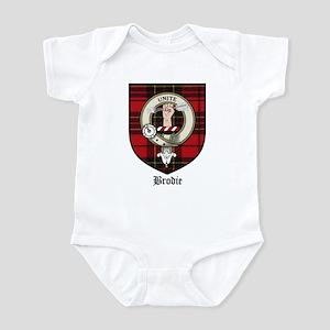 Brodie Clan Crest Tartan Infant Bodysuit