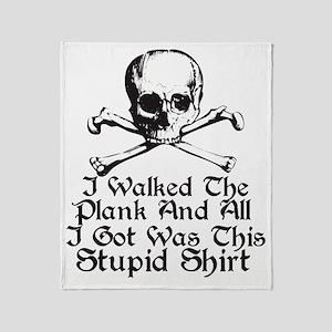 stupid Throw Blanket
