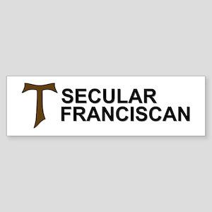 Secular Franciscan Bumper Sticker