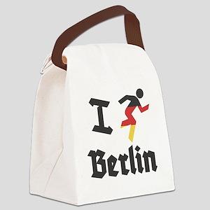 I-Run-berlin-2 Canvas Lunch Bag