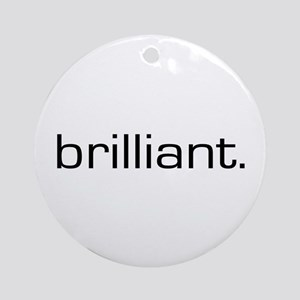 Brilliant Ornament (Round)