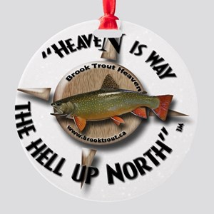 Brook Trout Round Ornament