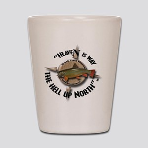 Brook Trout Shot Glass