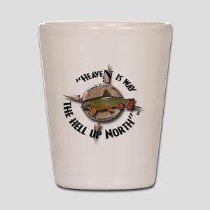 Brook Trout Shot Glass