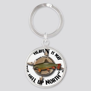 Brook Trout Round Keychain